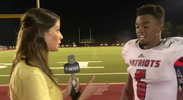 High School Football Player Gives The Most Motivational Post Game Interview Ever.