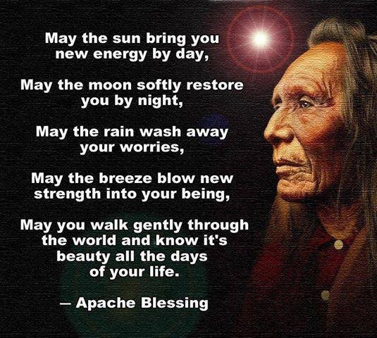 May the universe bless you