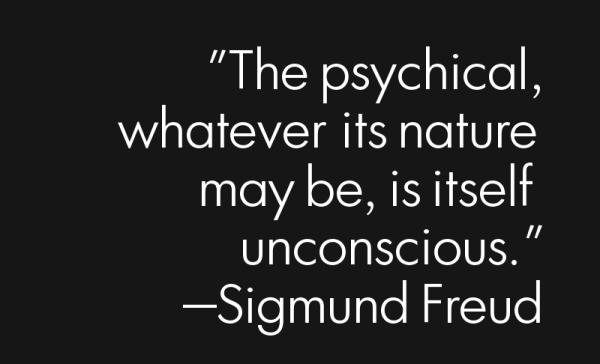 The unconscious mind...
