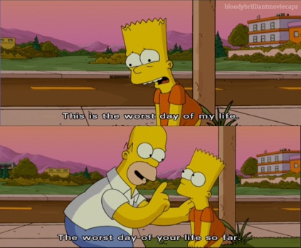 A funny quote from the Simpsons which is not true at all :)