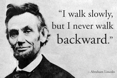 Walk slowly, measure your steps and plan your moves... and you will succeed.