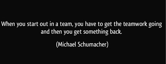 Teamwork can bring out the best in you, but you need to contribute all your skills for the benefit of the team.