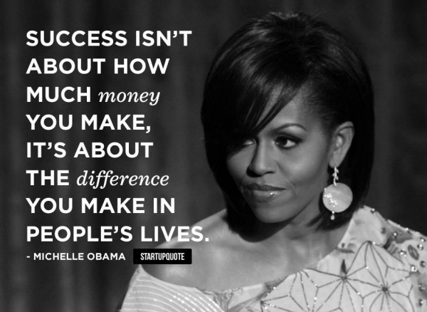 Make a difference in people's lives...