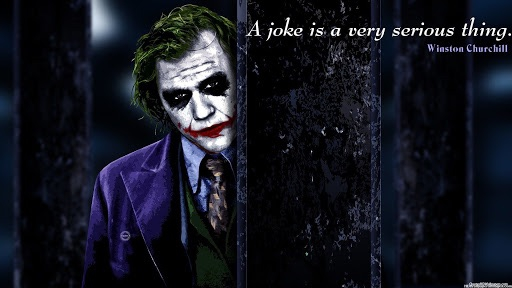 Not all jokes are meant to be laughed at...