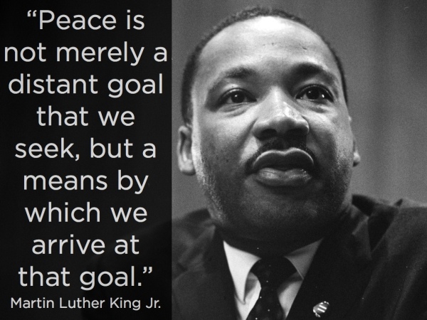 Peace is a goal worth pushing hard for...